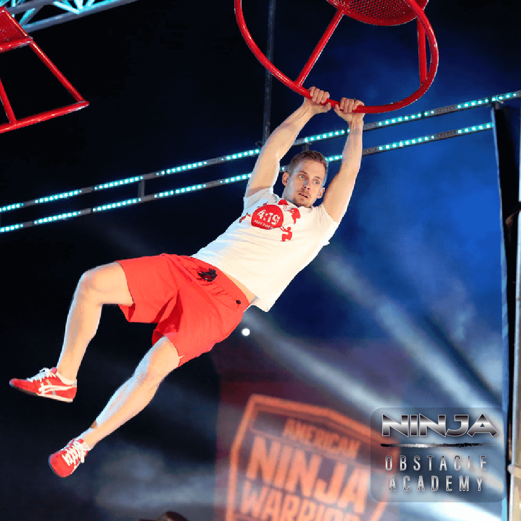 "AMERICAN NINJA WARRIOR -- ""Atlanta Qualifying"" -- Pictured: Chris Moore -- (Photo by: Quantrell Colbert/NBC) Quantrell Colbert/NBC 