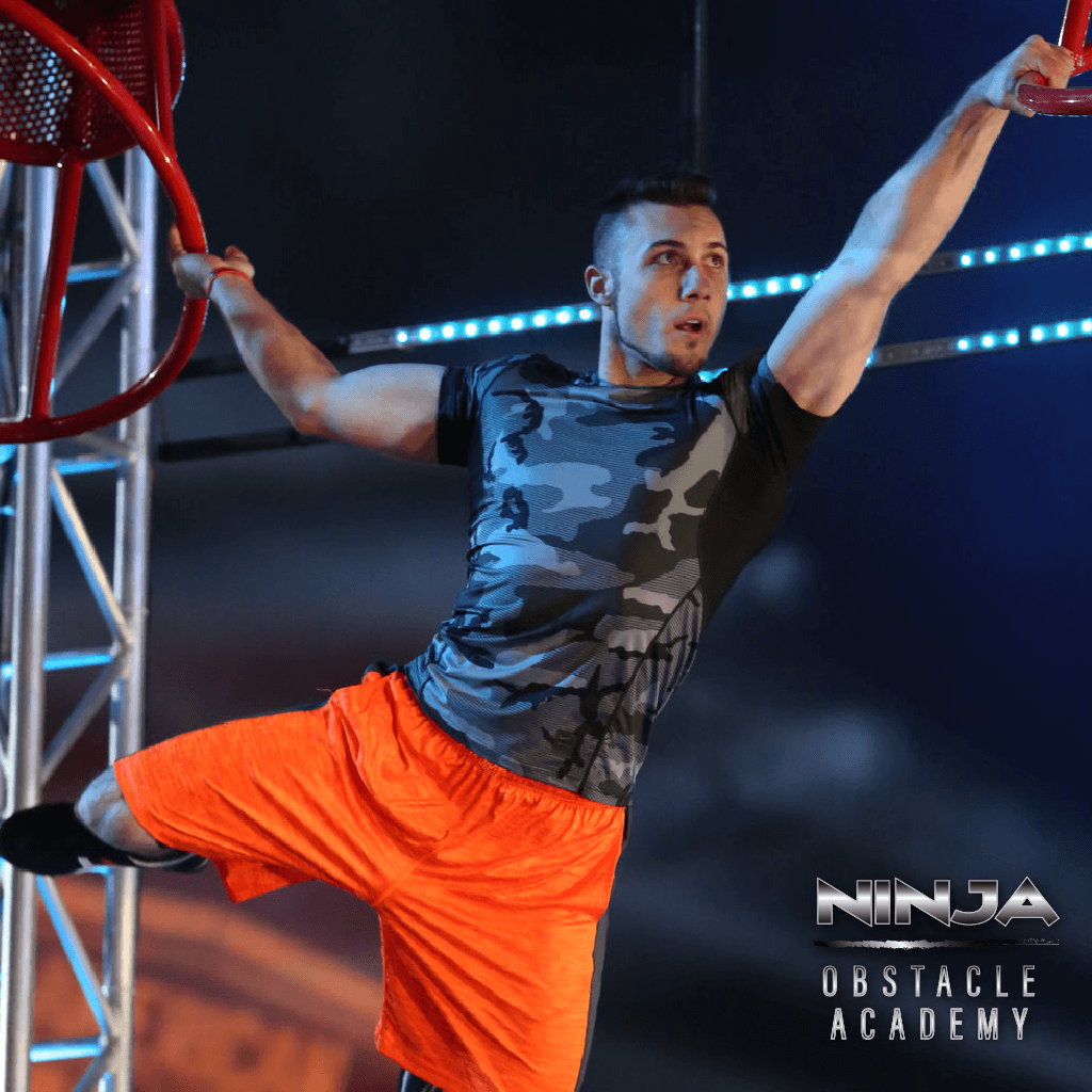 "AMERICAN NINJA WARRIOR -- ""Atlanta Finals"" -- Pictured: Joseph Greene II -- (Photo by: Quantrell Colbert/NBC) Quantrell Colbert/NBC 