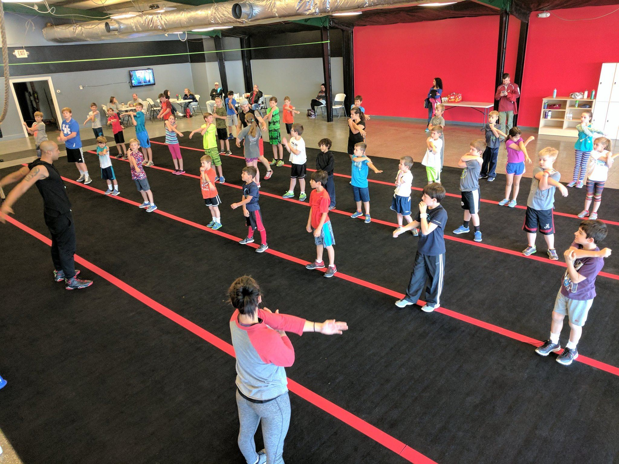 Ninja Warrior Gym Huntsville. AL