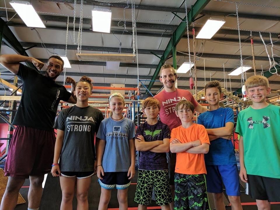 Ninja Warrior Gym Huntsville