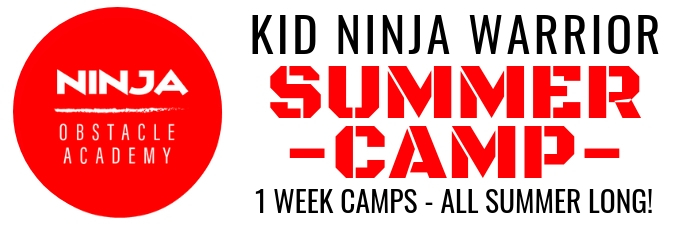 Ninja Warrior Summer Camp 2019